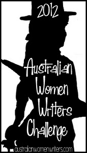 Australian Women Writers Challenge badge