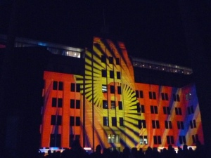 Old MCA at Vivid Sydney