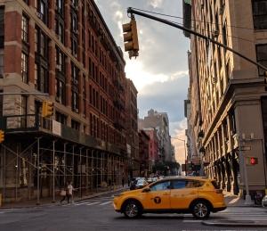 Scene in Manhattan - photo by Katie Kohlbeck