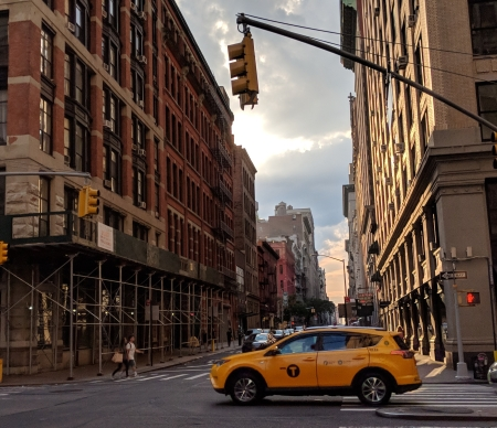 Scene in Manhattan - photo by Katie Kohlbeck